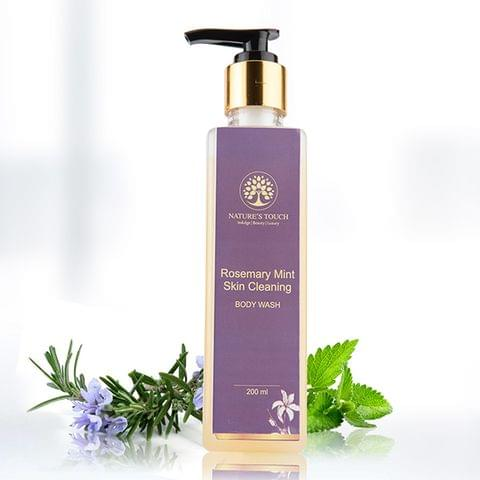 Rosemary Mint Skin Cleaning Body Wash - 200 ml
