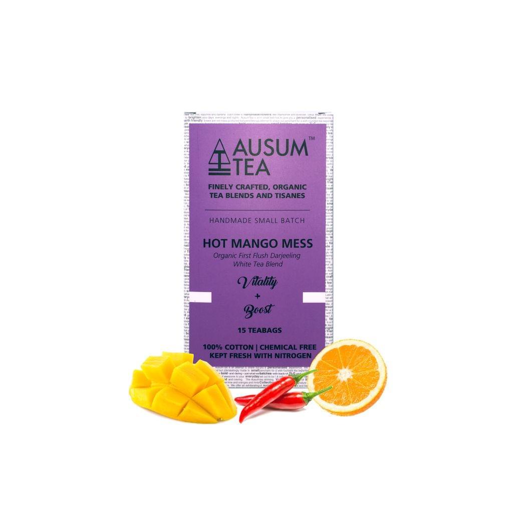 Hot Mango Mess White Tea Blend