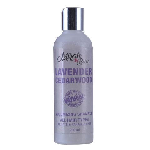 Lavender & Cedarwood Volumizing Shampoo - 200 ml