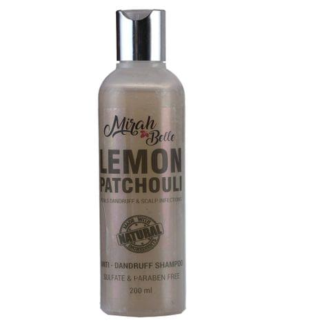 Lemon & Patchouli Anti Dandruff Shampoo - 200 ml