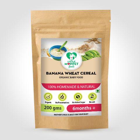Banana Wheat Cereal - 200 gm
