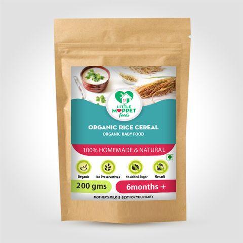Organic Rice Cereal - 200 gm