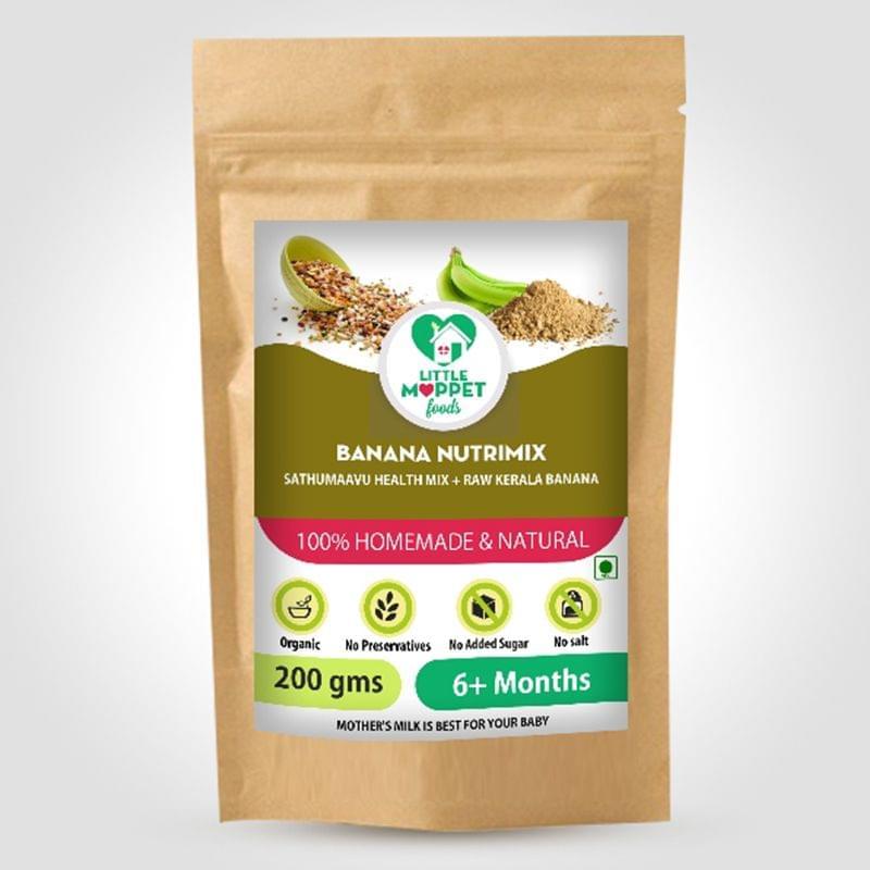 Banana Nutrimix - 200 gm