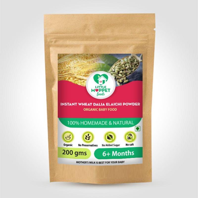 Instant Wheat Dalia Elaichi Powder - 200 gm