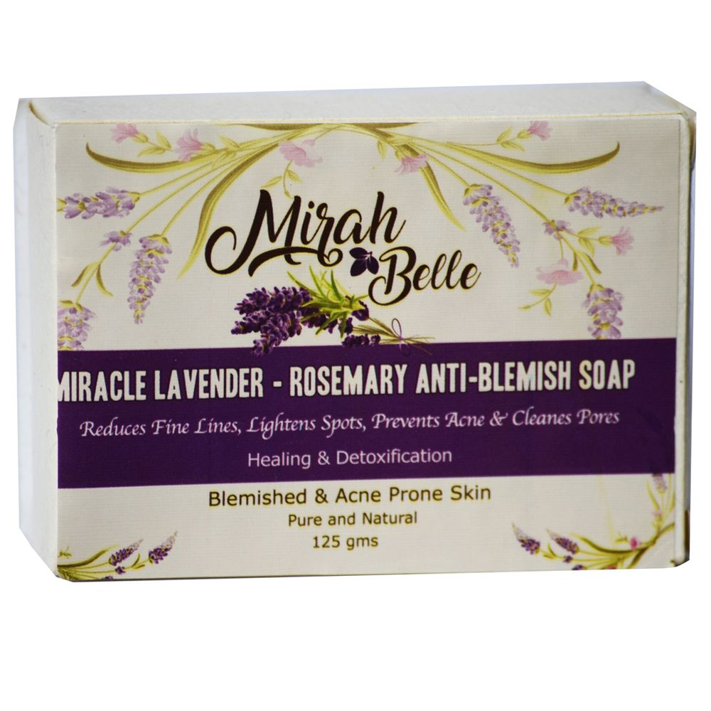 Miracle Lavender & Rosemary Anti-Blemish Soap - 125 gm