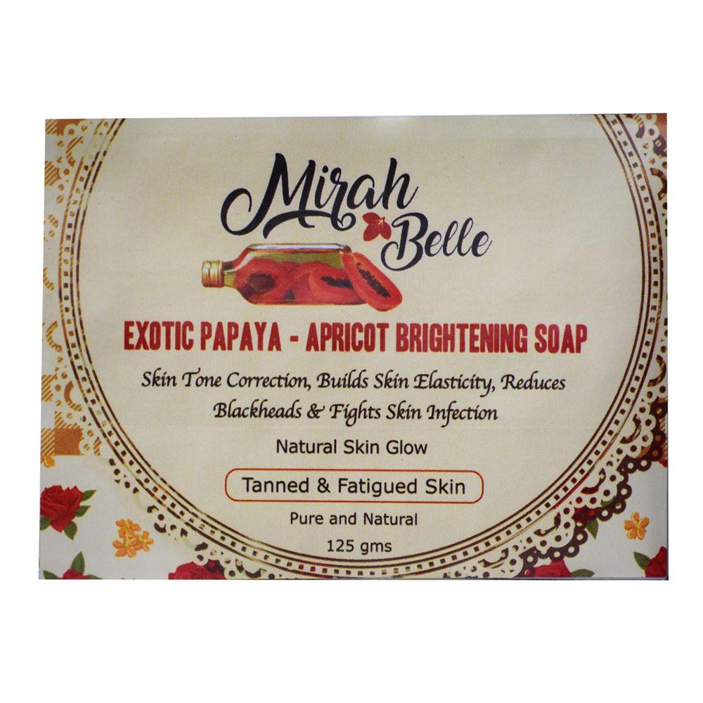 Exotic Papaya & Apricot Brightening Soap - 125 gm