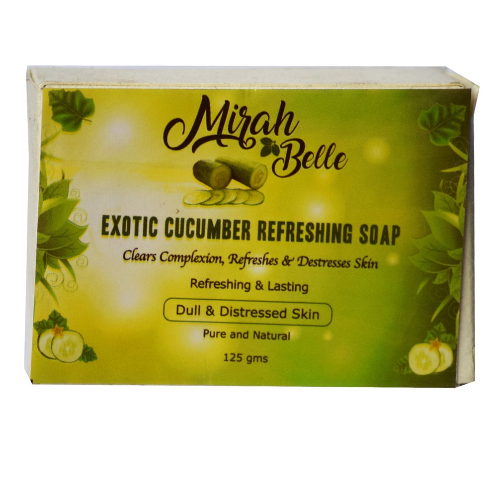 Exotic Cucumber Refreshing Soap - 125 gm