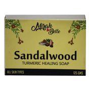 Sandalwood Turmeric Healing Soap  - 125 gm