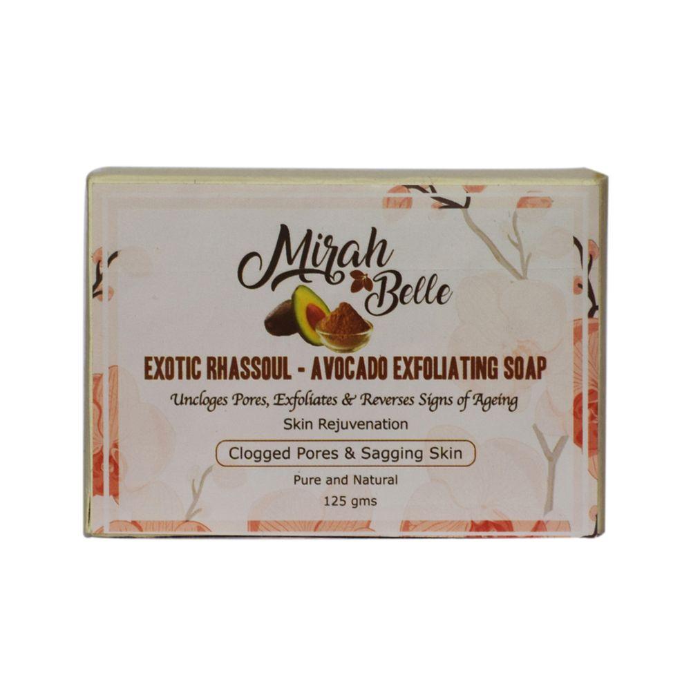Exotic Rhassoul & Avocado Exfoliating Soap - 125 gm