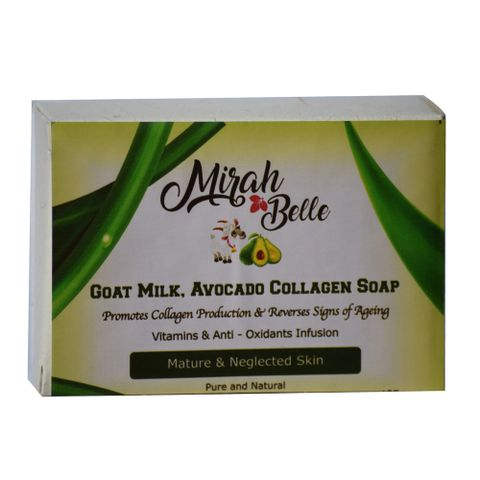 Avocado & Goat Milk, Collagen Soap - 125 gm