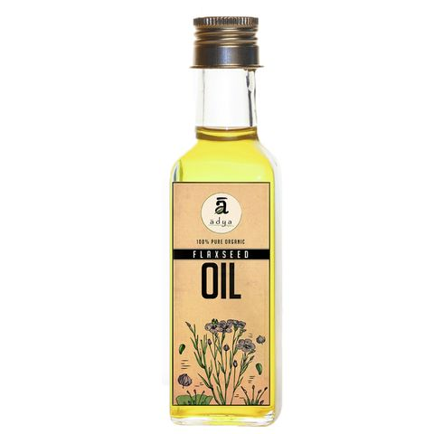 Cold Pressed Flax Seed Oil - 100 ml