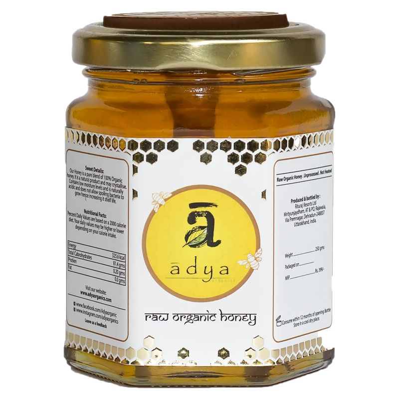 Raw Mustard Honey - 500 gms