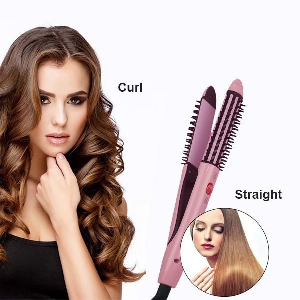 Nova 2 in 1 Hair Curler and Straightener