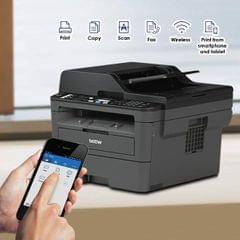 Brother MFC-L2710DW, MFP 4-in-1 Monochrome Laser Multi-Function Printer