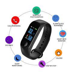 Private: M3 Bluetooth Smart Watch Intelligent Health Bracelet Wristwatch