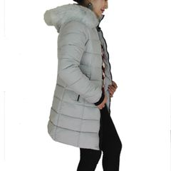 Long Korean Designed Down Jacket For Women