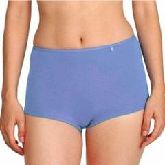 Jockey Light Blue Fashion Essentials Boy Leg Shorts For Women - SS04