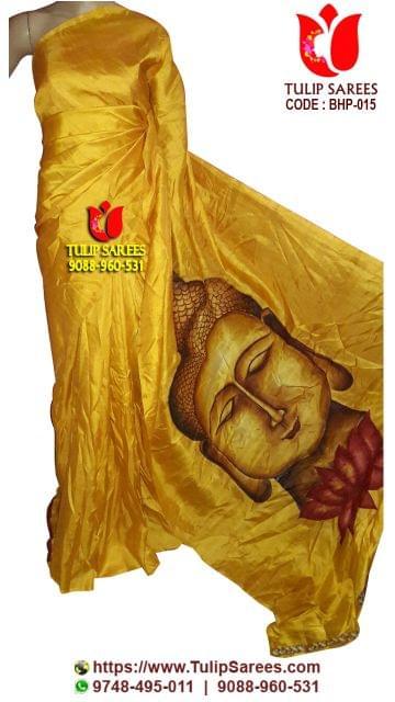 Bishnupuri Silk   Hand Painted