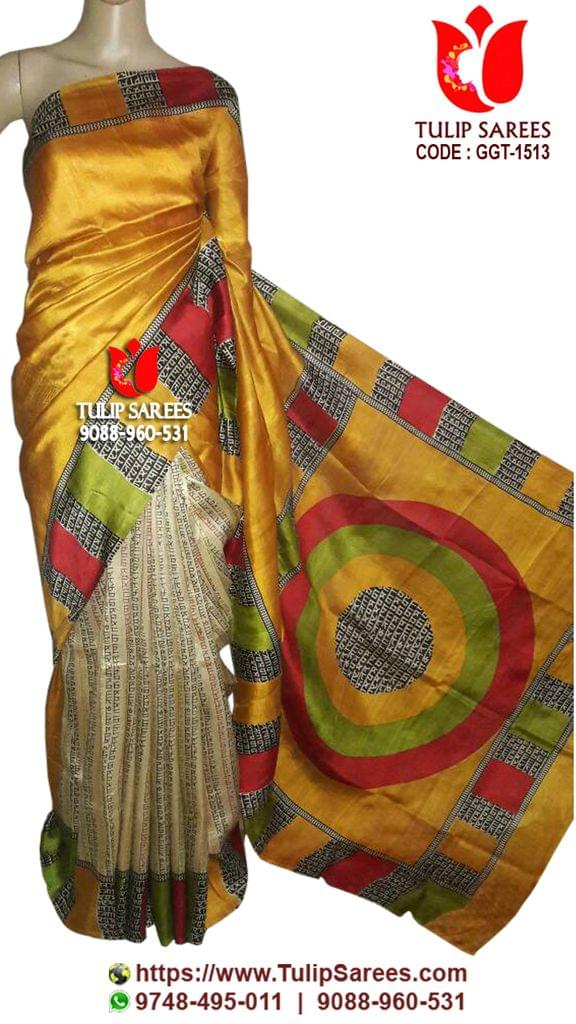 Gachi Tussar | Bengal Handwoven