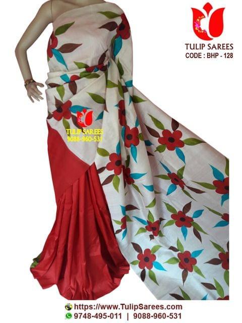 Bishnupuri Silk | Hand Painted