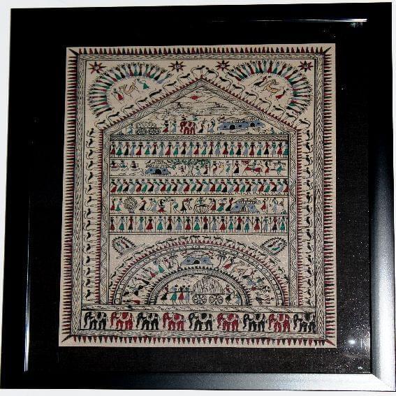 Traditional Odisha Soura Tribal Artwork