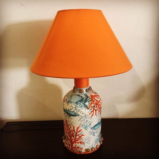 Aqua Handcrafted Lampshade