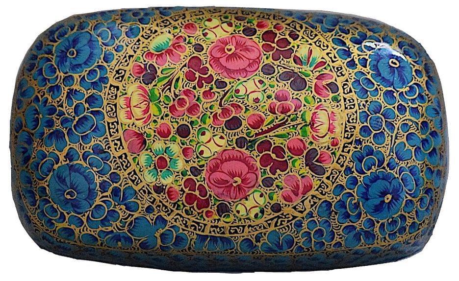 IndicHues Decorative Large Paper Mache Rectangular Jewelry Box