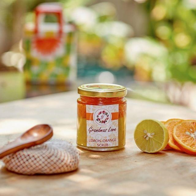 Grandma's Love Lemon and Orange Scrub