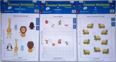 My Preschool Worksheets - Level 2 -Set 2