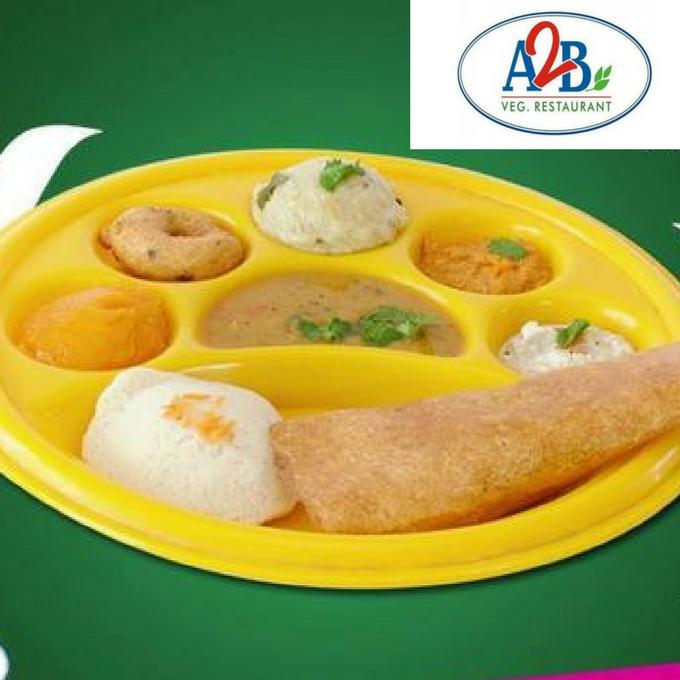 A2B Catering- Slightaah Oru Breakfast Menu