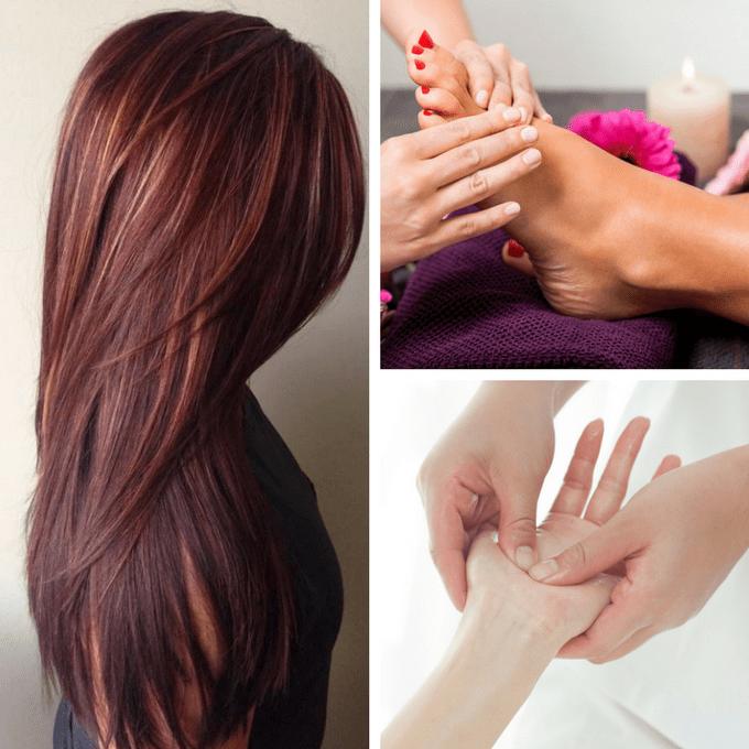 Kadaiveedhi Beauty Full Growth Hair Colour and Massage