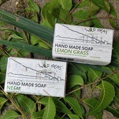 Wild Ideas Soaps Lemongrass and Neem Combo