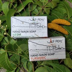 Wild Ideas Soaps Neem and Turmeric Combo