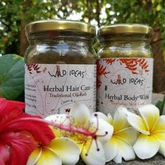 Wild Ideas Herbal Body Wash and Traditional Oil Bath Combo