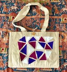 Hastkrit Abstract Design Cloth Shopping bag