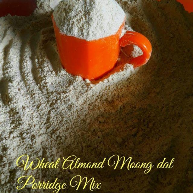 Farm To Home - Home Made Cerelac Wheat Moong Almond Porridge Mix