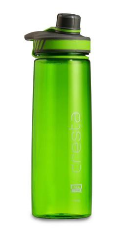All Time Cresta Twist Cap Opening Sports Travel Polycarbonate Water Bottle 750ml Green W6026 Green