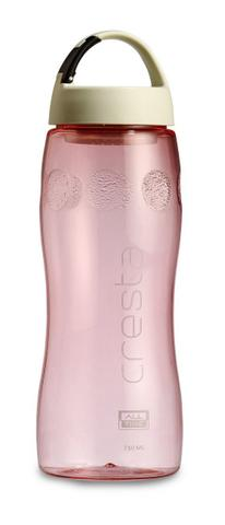All Time Cresta Fruit Infuser Polycarbonate Water Bottle 750ml Pink W6054 Pink