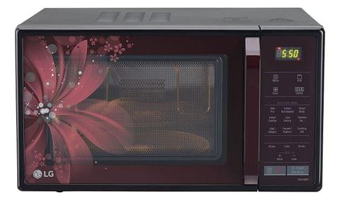 LG 21 L Convection Microwave Oven (MC2146BRT, Burgundy Red)