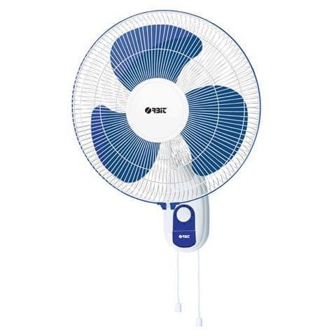 Orbit WF-1610 Wall Fan (White & Blue) OB WF-1610