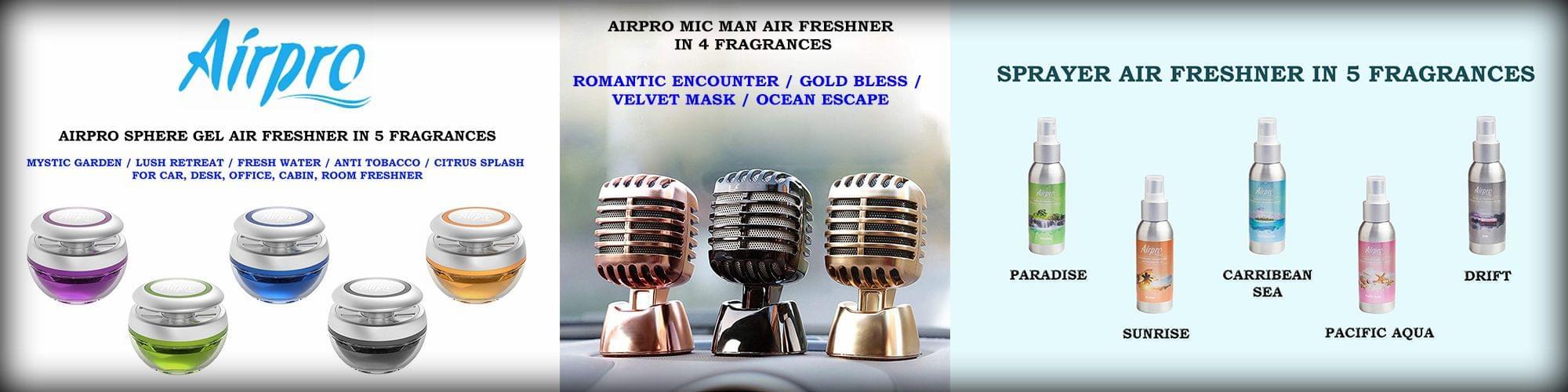 AIRPRO AIR FRESHNERS