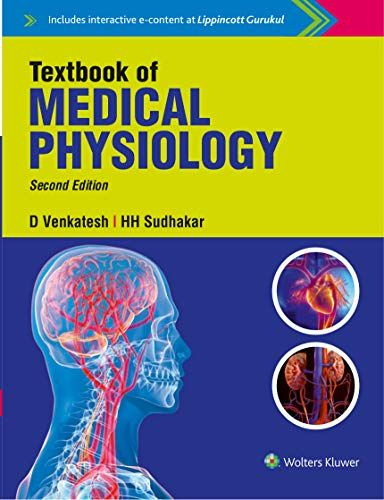 Textbook of Medical Physiology, 2nd Edition 2018 By Sudhakar H.H. Venkatesh