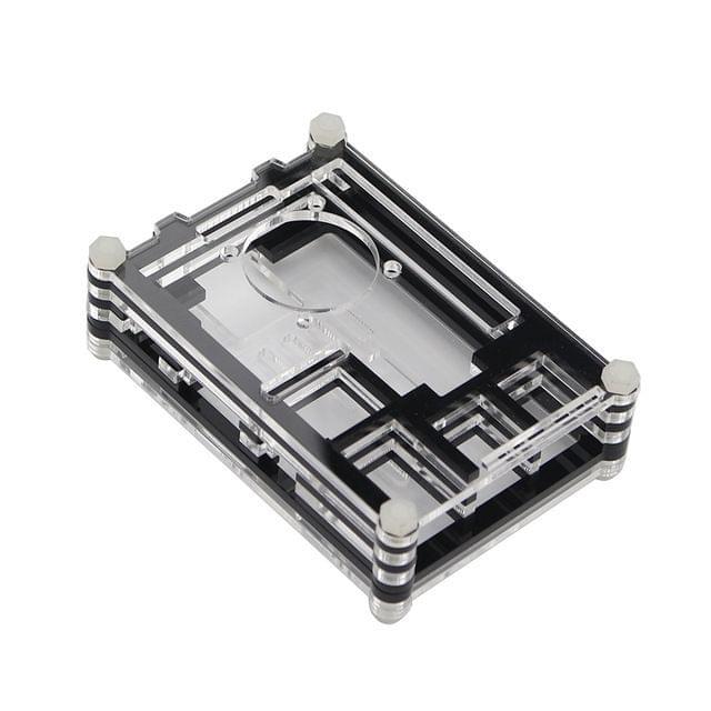 Raspberry PI 3 Transparent Acrylic Case Enclosure