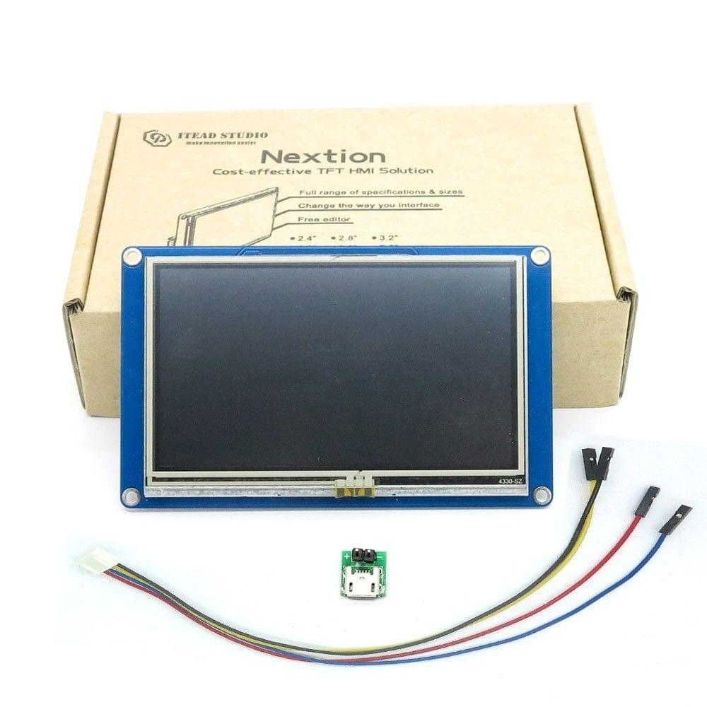 """Nextion NX4827T043 - 4.3"""" TFT LCD Intelligent Touch Display"""