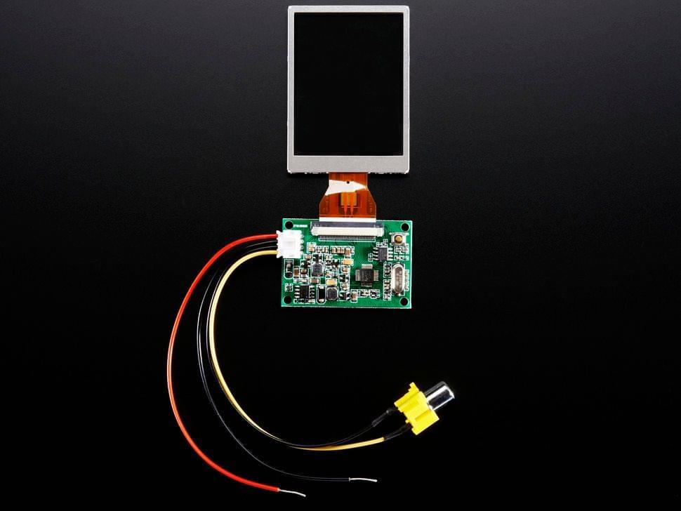 """NTSC/PAL (Television) TFT Display - 2.5"""" Diagonal"""