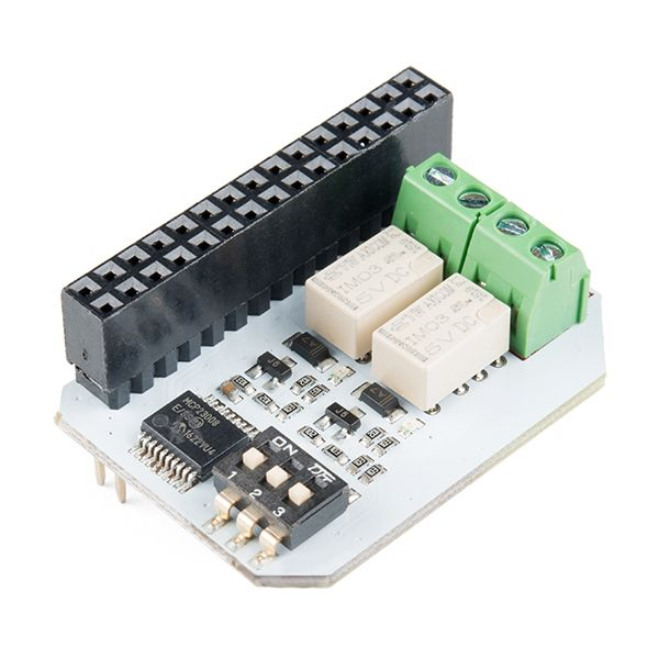 Relay Expansion Board for Onion Omega