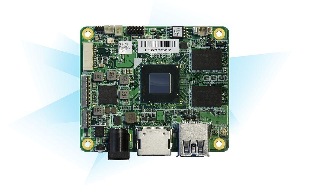 UP Core 4GB + 64GB eMMC memory