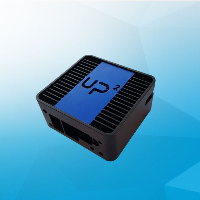 UP Squared fanless chassis with VESA mounting plate