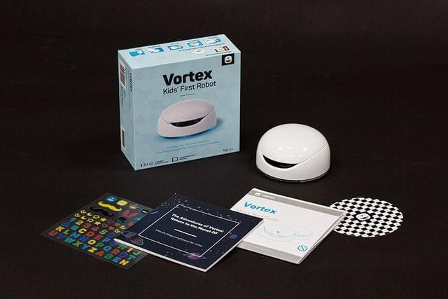 Vortex - An Arduino Based Programmable Toy Robot For Kid