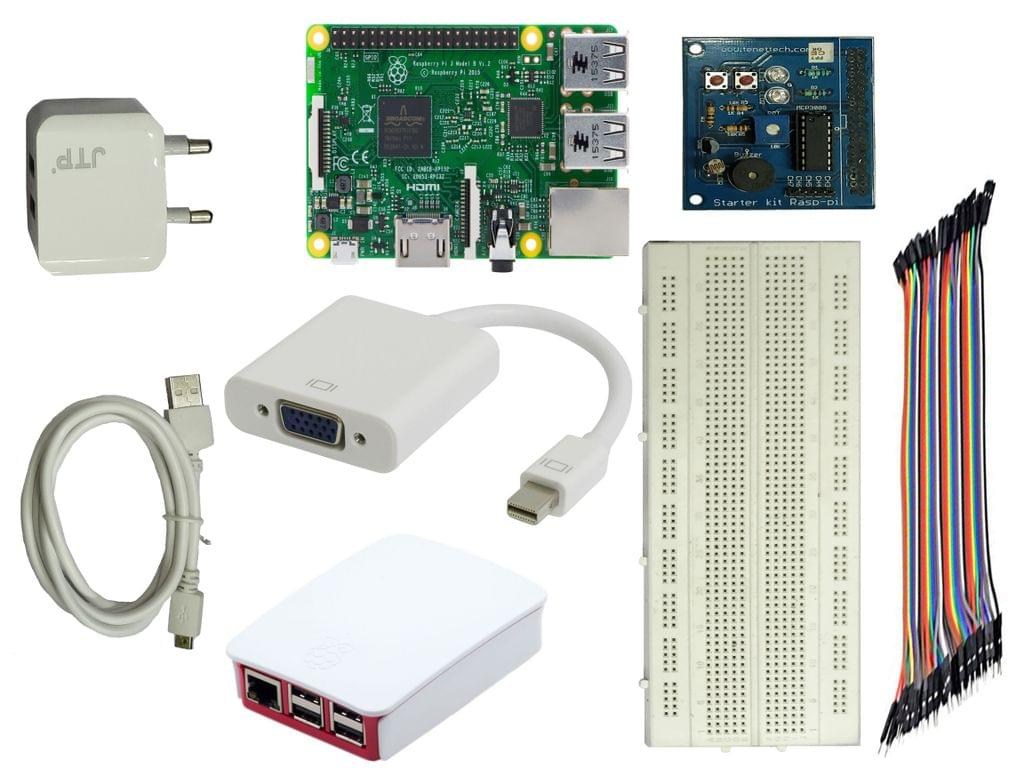 Tenet Raspberry Pi 3 B+ Starter Kit
